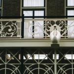 'Hotel de witte Zwaan' Decor gevel