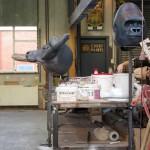Dierenmaskers voor Sonnevlanck kinderopera: 'Schaap'