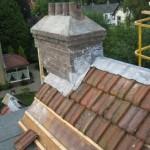 Schoorsteen en dak aanpassing voor film: Knetter