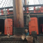 Decor-Mast voor de Batavia, Michiel de Ruyter