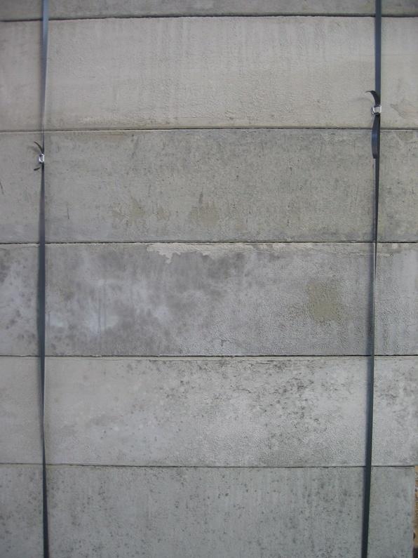 Decor zuilen voor film set Peter Greenaway