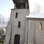 Decor kerk voor film: 'De Sint'