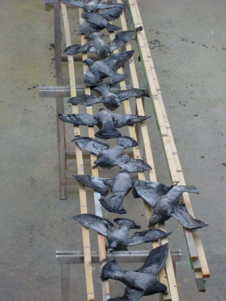 """'Dode duiven' voor voorstellin: Apocalyps van """"Het Syndicaat"""""""