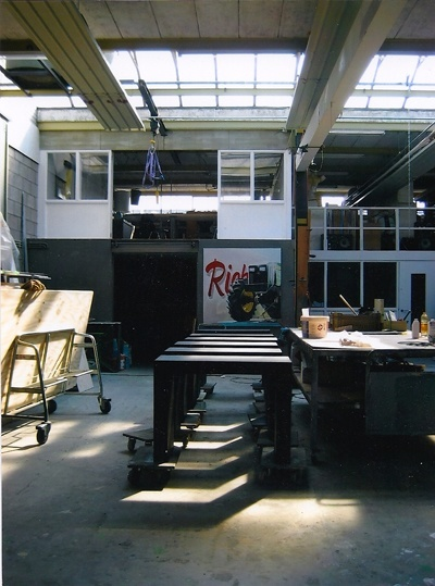 Werkplaats Paradies decor